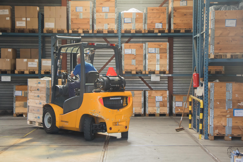 Lagerung & Transport von Kunststoff